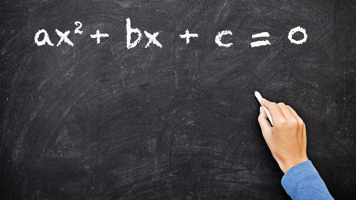 formas de la ecuacion cuadratica