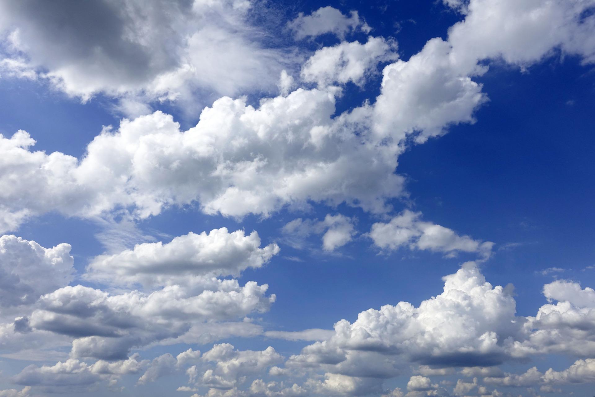 Formas de nubes